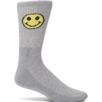 1-Pack Face Tennis Socks 1-Pack Face Tennis Socks | Grå